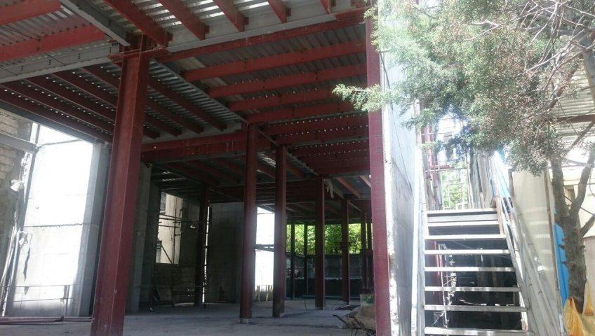 سیستم ساختمان فولادی مرکز